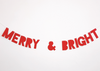 Merry & Bright Banner