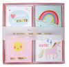 Unicorn Valentines Card Set