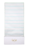 Mint Striped Tablecloth