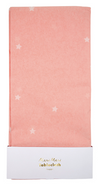 Pink Scattered Star Tablecloth