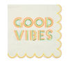 Small Good Vibes Napkin
