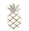 Gold Foil Pineapple Napkin