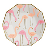 Large Flamingo Plate