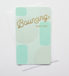Bouncing Baby Boy Letterpress Card