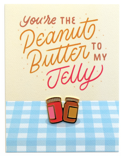 PB&J Love Pin Card