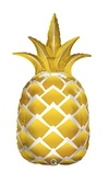 44 Inch Gold Pineapple Mylar