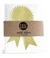 Award Ribbon Stickers - Gold