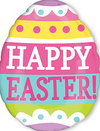 "16"" Springy Easter Egg Mylar Balloon"