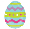 "18"" Easter Egg Mylar Balloon"