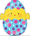"20"" Chick Egg Mylar Balloon"