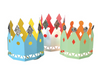 Assorted Paper Party Crowns