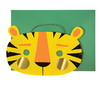 Tiger Mask Birthday Card