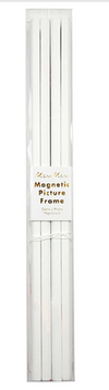 White Magnetic Picture Frame