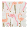 Large Flamingo Napkins