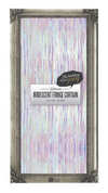 Iridescent Fringe Curtain