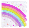 Rainbow & Star Napkin