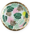 Monstera Appetizer Plate