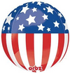 Patriotic Orbz Balloon