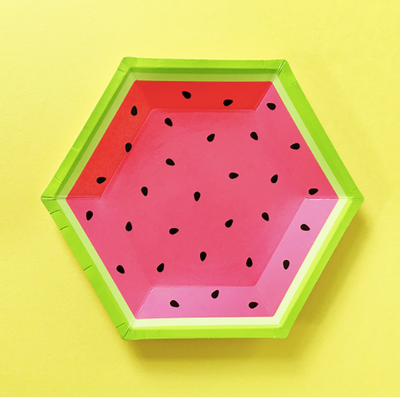 Hexagon Watermelon Plate