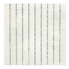 Silver Sparkle Striped Large Napkins