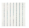 Silver Sparkle Striped Small Napkins