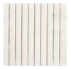 Metallic Pink Striped Large Napkins