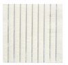 Silver Striped Large Napkins