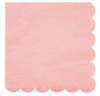 Neon Coral Large Napkin