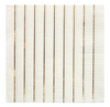 Gold Striped Large Napkins