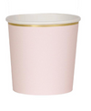Pale Pink Tumbler Cups