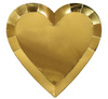 Gold Heart Large Plate
