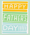 Colorblock Dad - Card