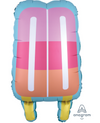 "30"" Just Chillin' Popsicle Balloon"