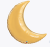 "35"" Crescent Moon - Gold"