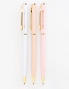 Big Little Series Ballpoint Metal Pen Set