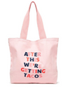 Big Canvas Tote- After this we're getting tacos