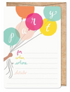 Birthday Brights Invitation - pack of 12