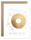 Dad- Pure Gold Card