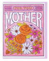 Flowers For Mother Card