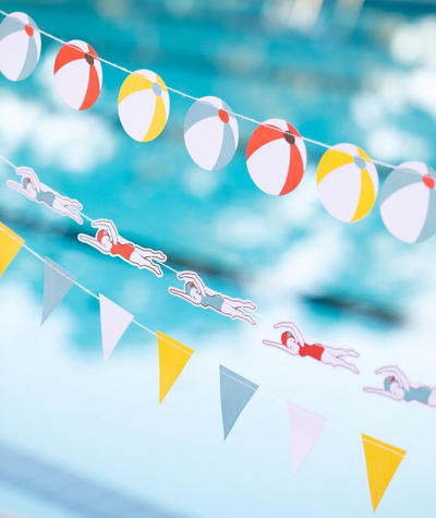 Pool Party Mini Banner Set