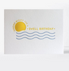 Swell Birthday Letterpress Card
