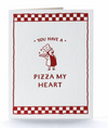 Pizza Guy Letterpress Card