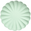 Pale Mint Simply Eco Large Plates