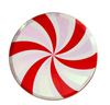 Peppermint Swirl Side Plates