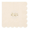 Cream Simply Eco Large Napkin