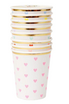 Multicolor Heart Cups
