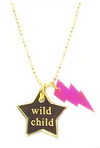 Wild Child Thunderbolt Necklace