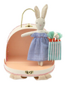 Bunny Mini Suitcase Doll