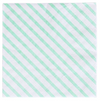 Mint Stripe Cocktail Napkin
