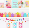 So Eggcited Felt Garland